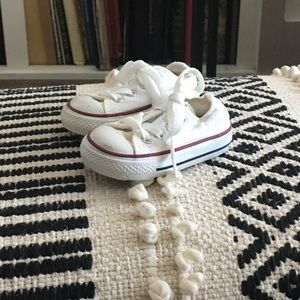 Converse White Classic Shoes